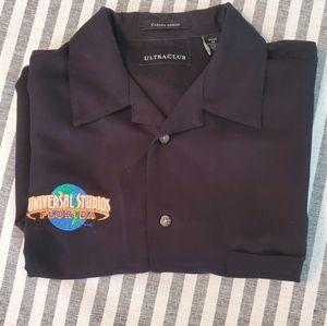 Universal Studios Florida Mens Button-up shirt M
